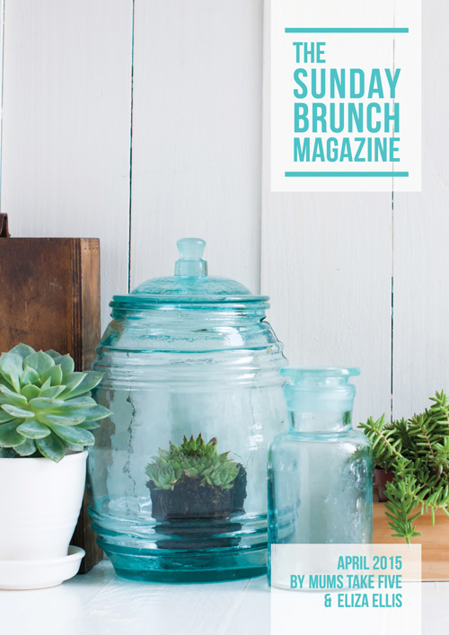 THE SUNDAY BRUNCH MAGAZINE cover image