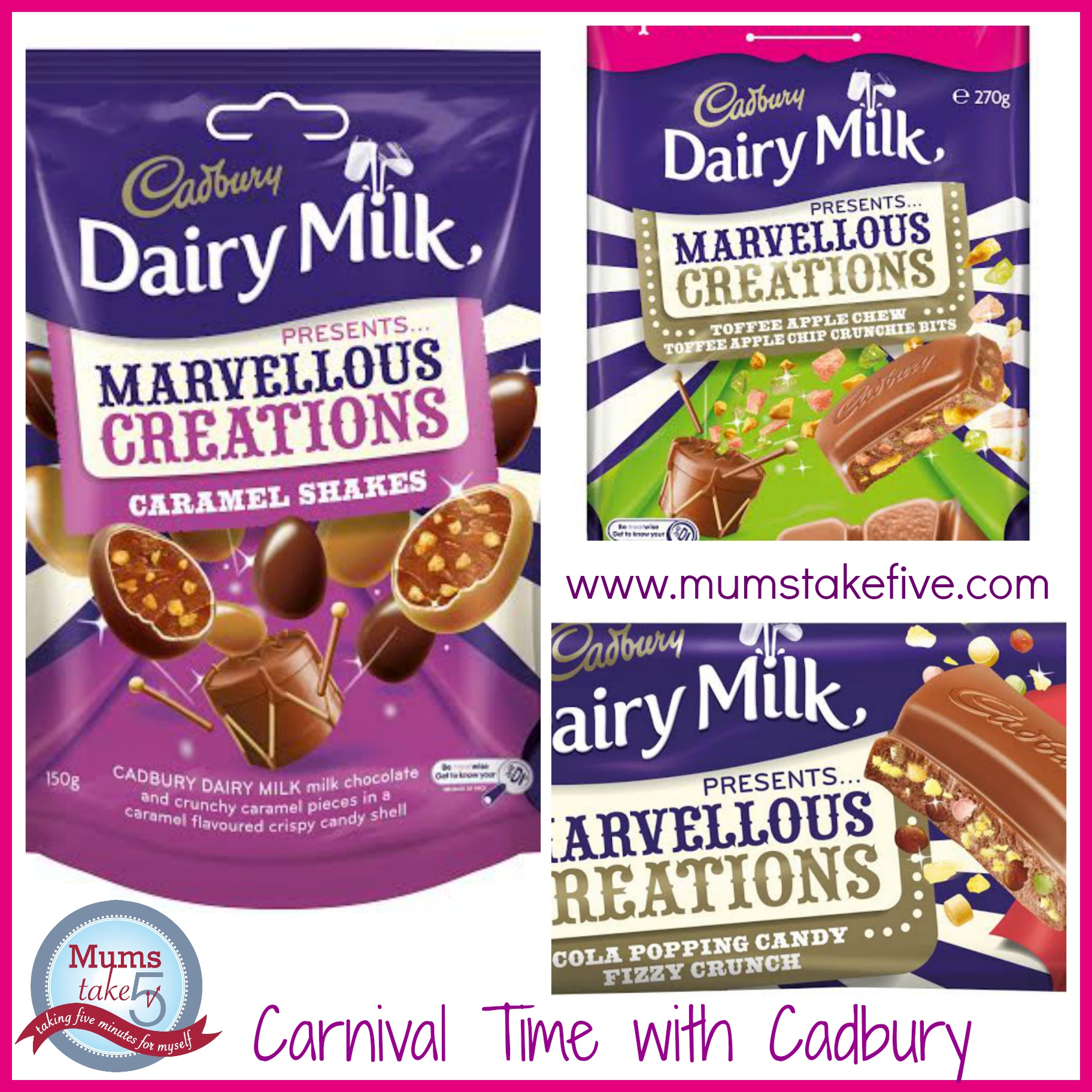 Marvelous Creations: Cadbury Marvellous Creations New Carnival Flavours
