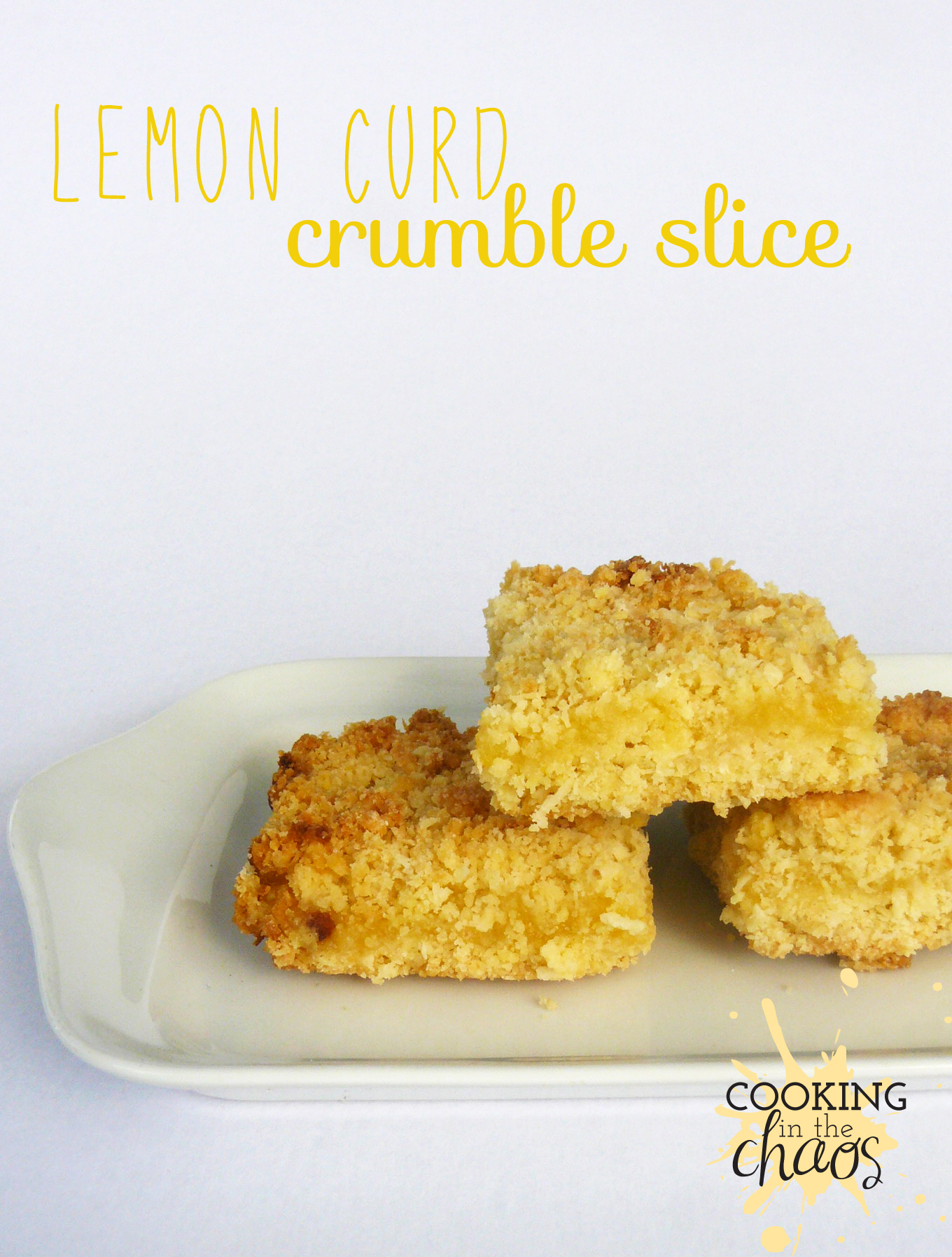 lemon curd crumble slice thermomix. Black Bedroom Furniture Sets. Home Design Ideas