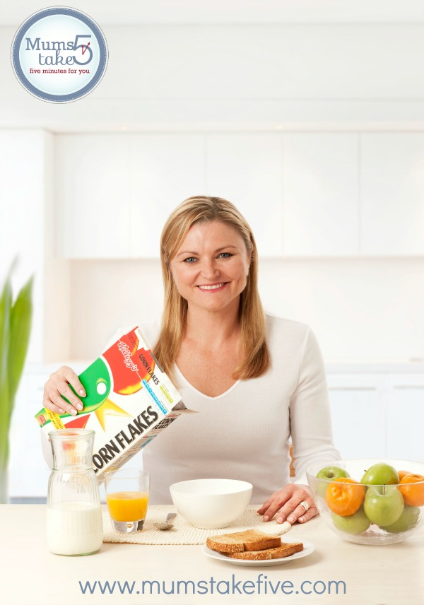 Kellogg's Grown Ups Go Free Budget Tips with Melinda Gainsford Taylor
