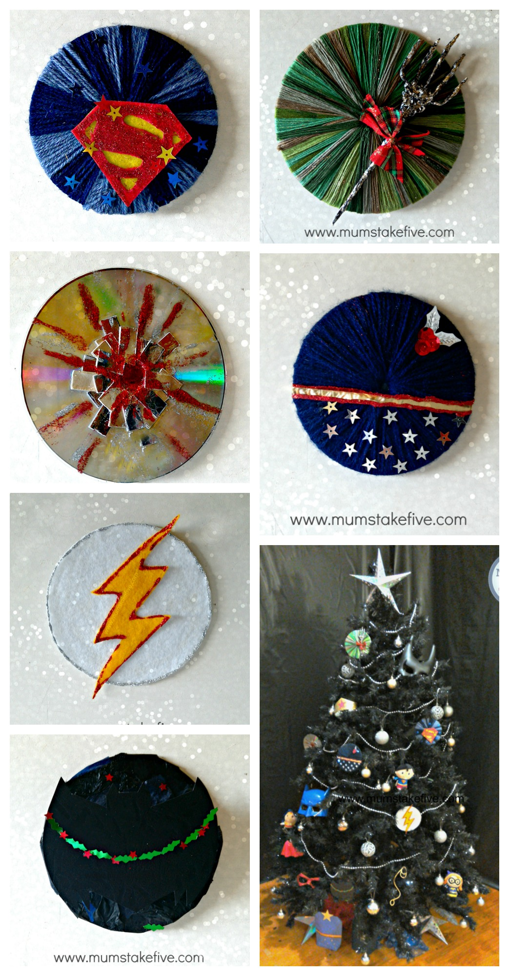 Justice League Christmas Craft