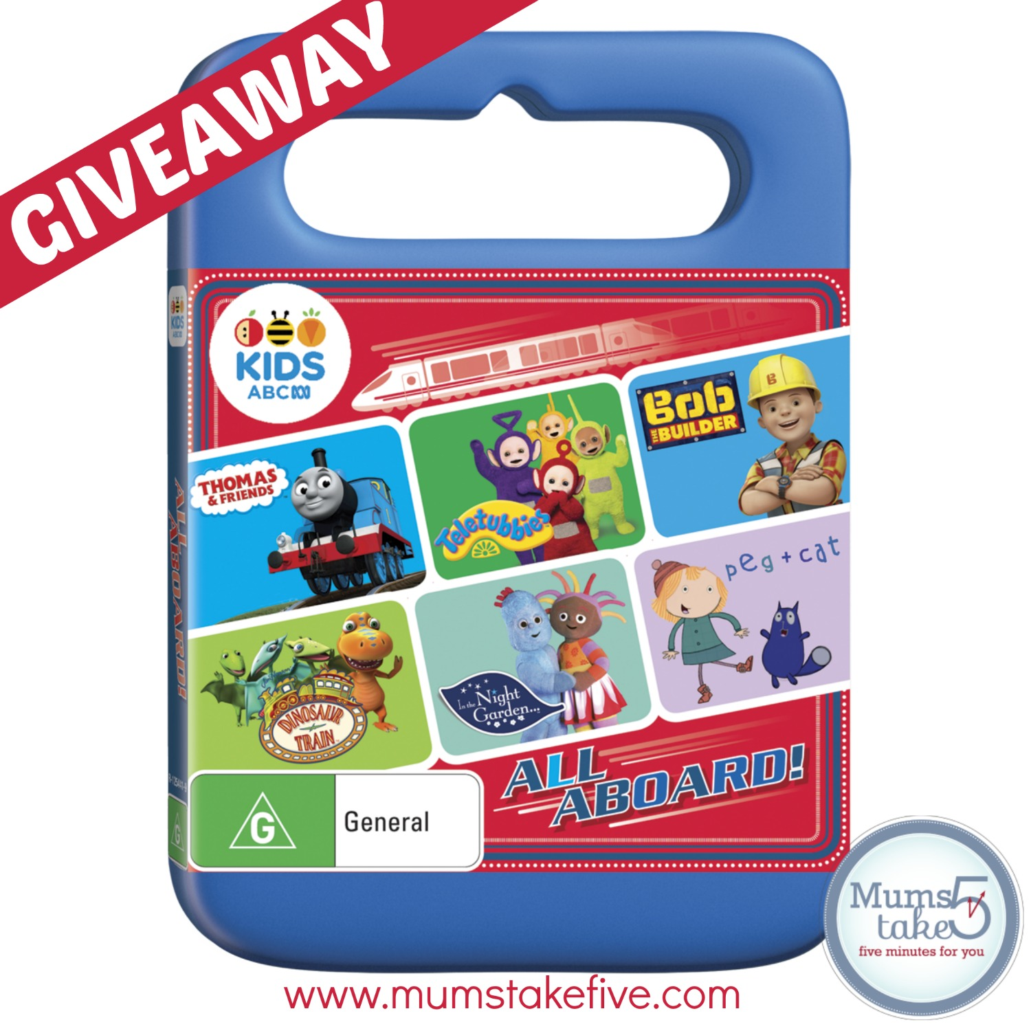 All Aboard ABC KIDS pilation DVD Giveaway