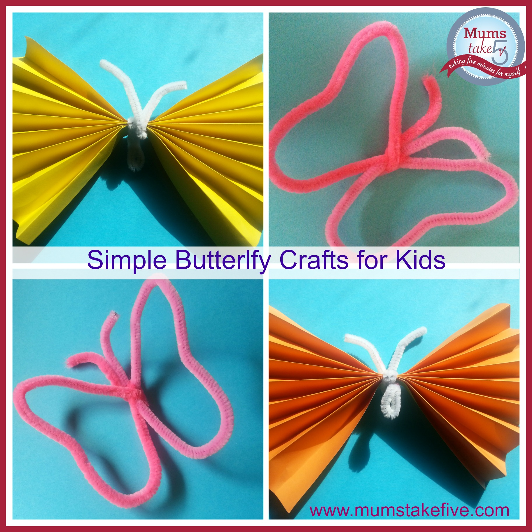 Butterfly Craft Ideas For Kids Part - 24: Butterfly Craft Easy Kids Craft