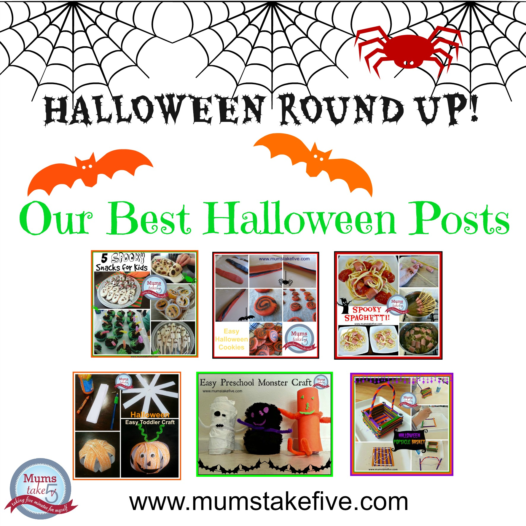 Halloween Recipe and Craft Ideas