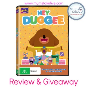 Hey Duggee  Review and Giveaway