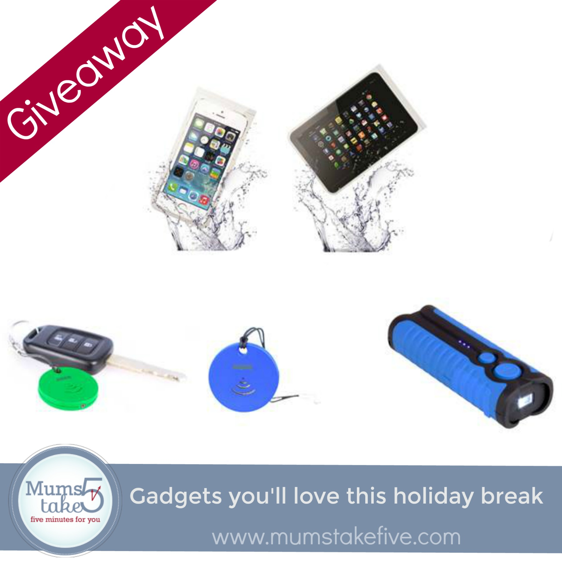 Laser Technology Gadgets Giveaway