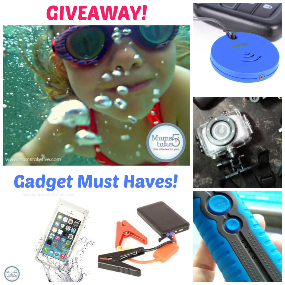 Must Have Tech Gadgets For Out And About Giveaway