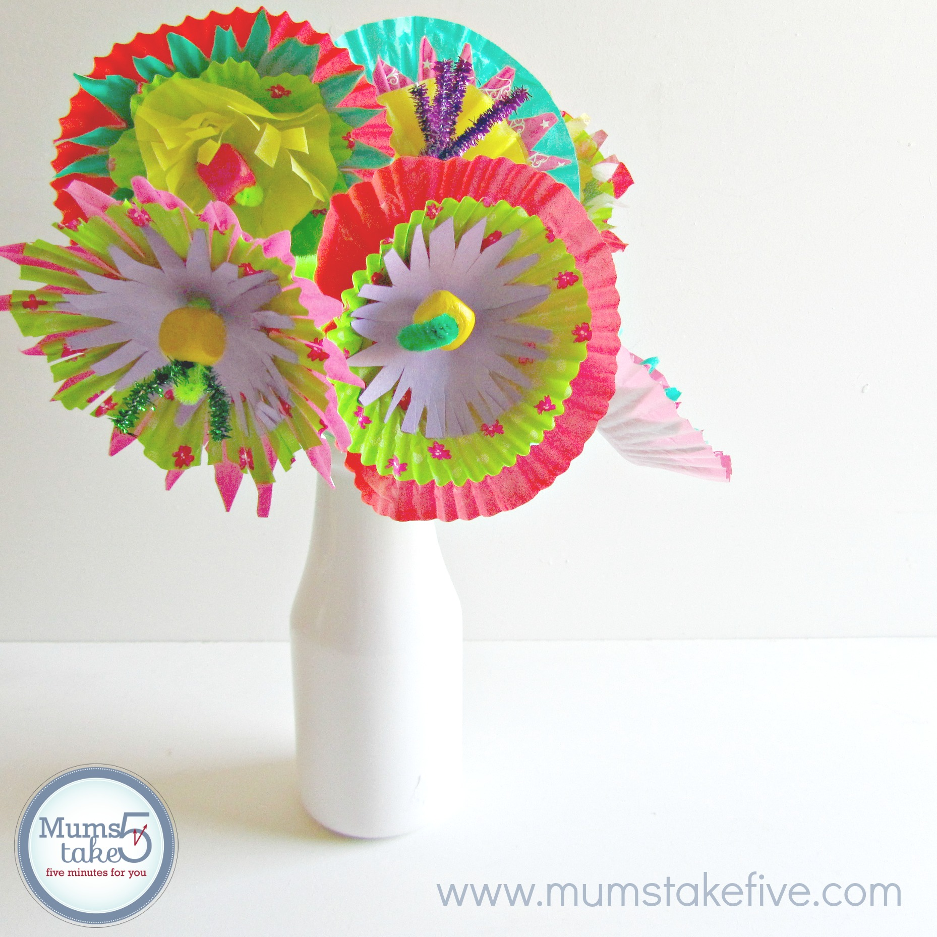 paper flowers easy kids craft