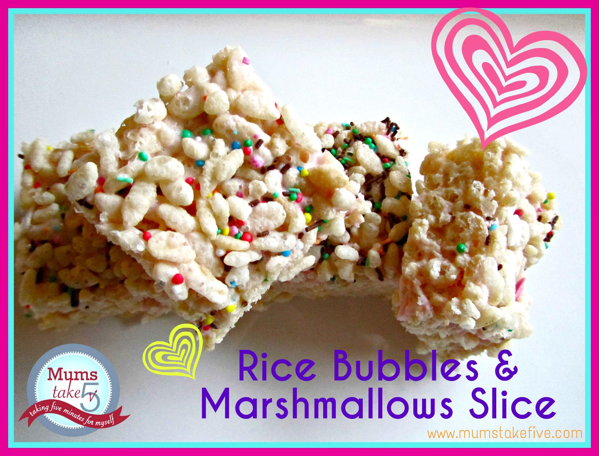 how to make rice bubble treats