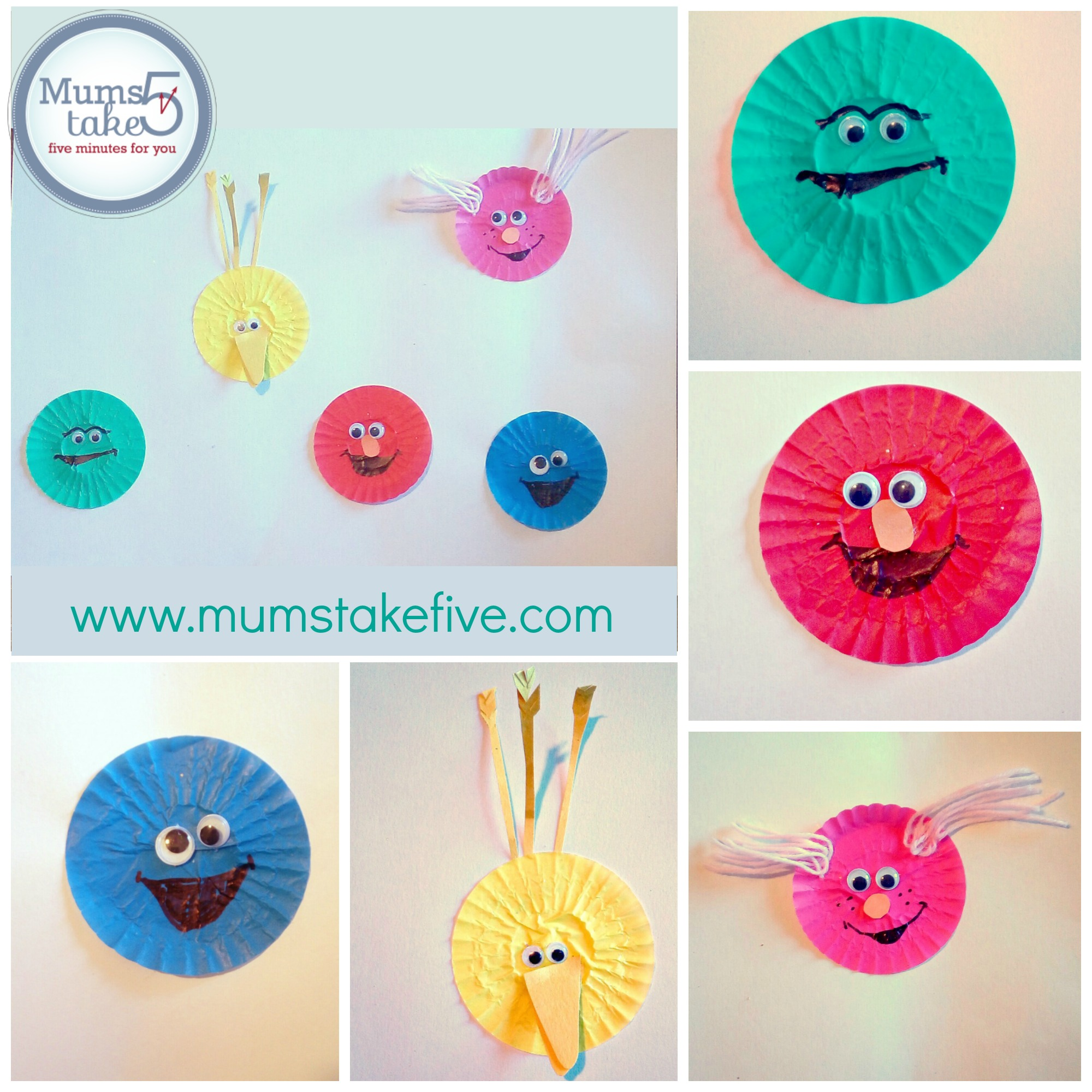 Sesame Street Paper Craft