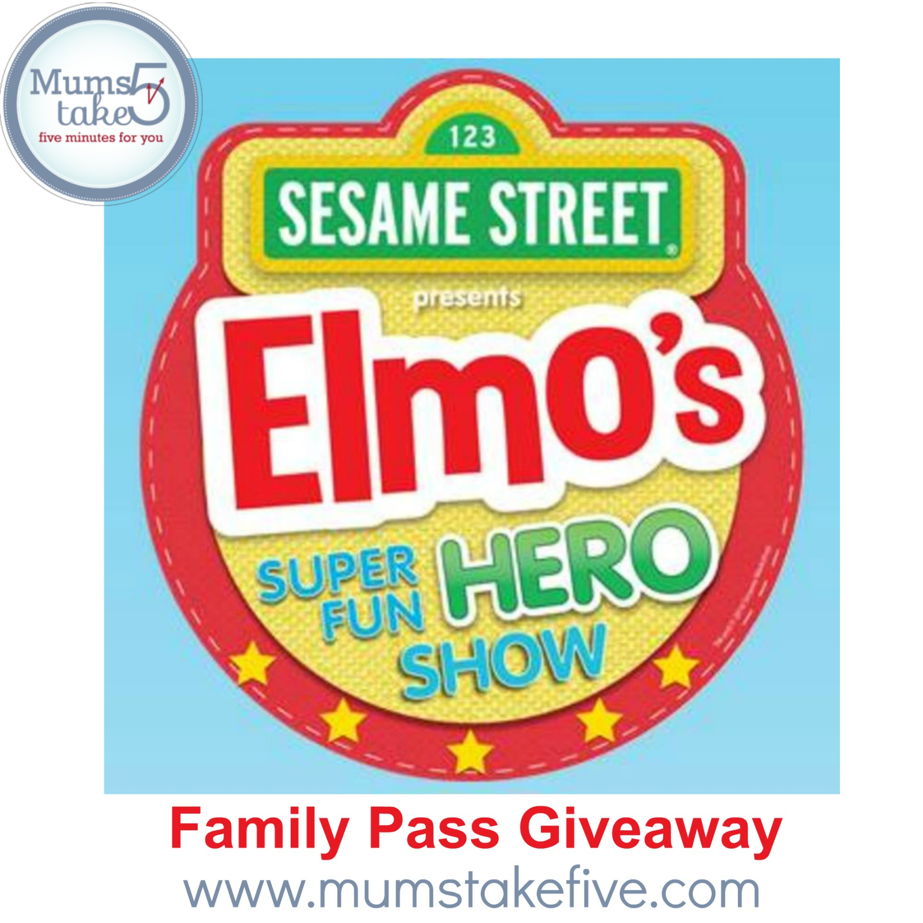 Sesame Street Presents  Elmos Super Hero Live Show