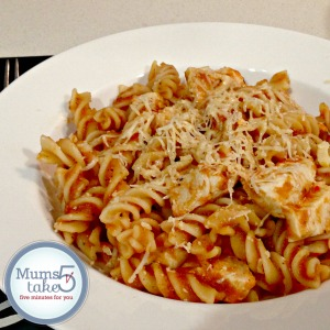 Thermomix Chicken and Tomato Pasta