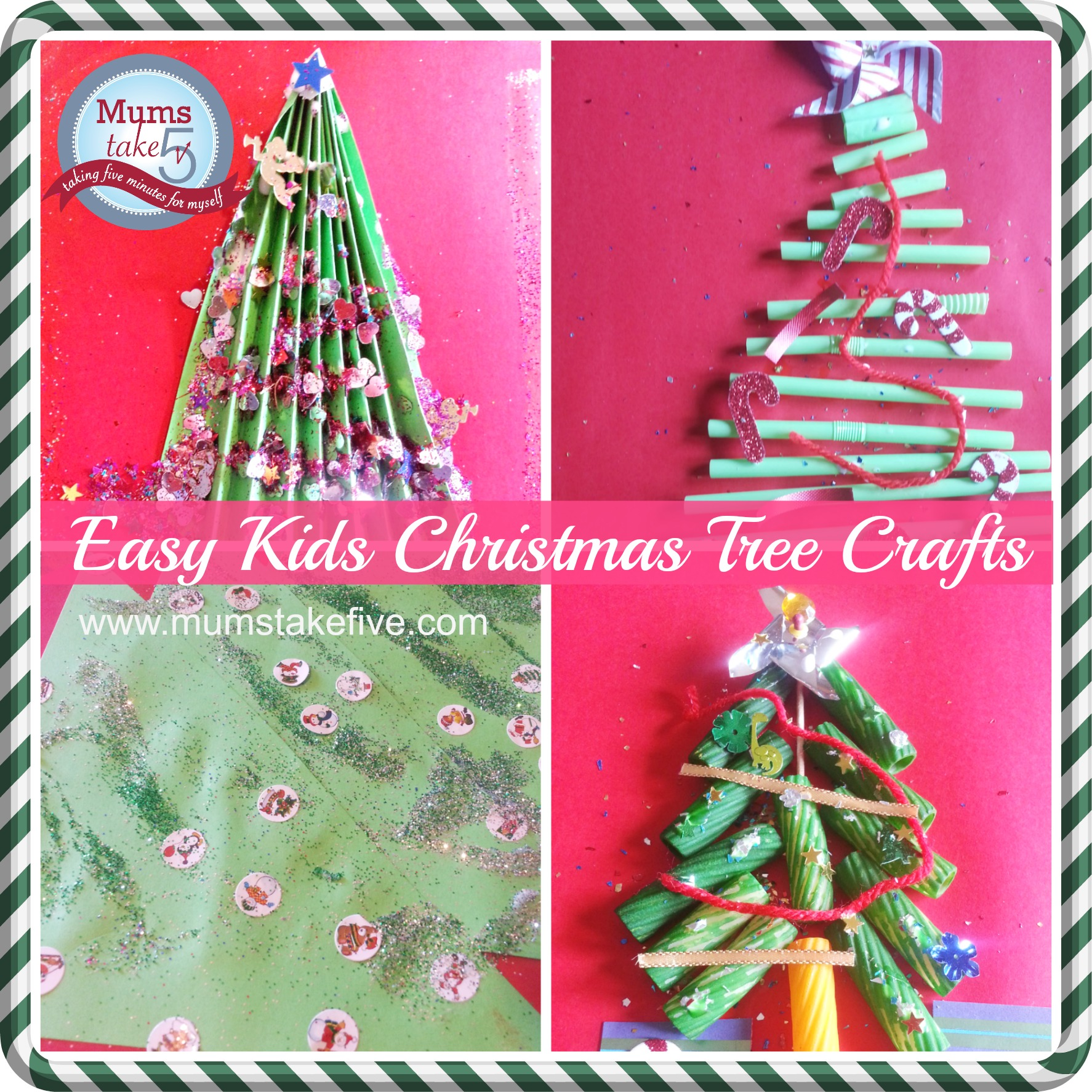 Simple Christmas Craft For Preschoolers : Simple christmas tree crafts for young kids