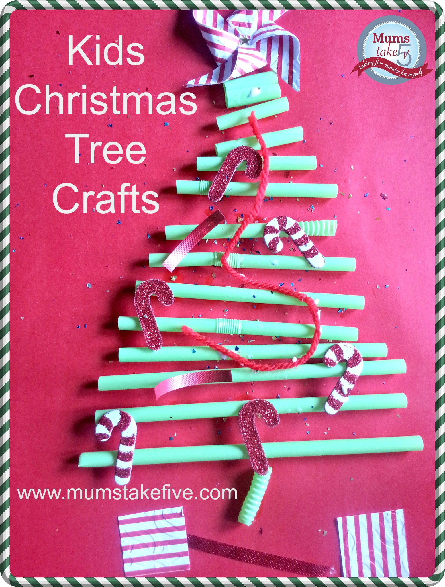 christmas tree toddler craft