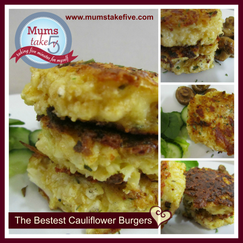 Cauliflower Patties www.mumstakefive.com