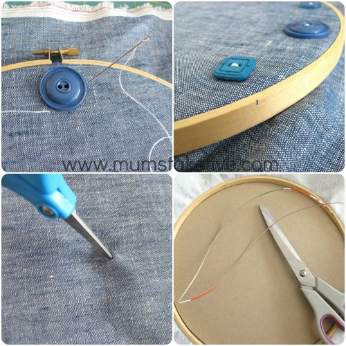 How to DIY Clock - DIY Clock using an Embroidery Hoop