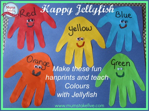 Early Learning Colours with Jellyfish