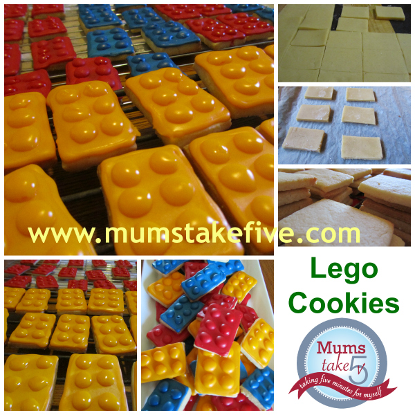 Lego Cookies how to make