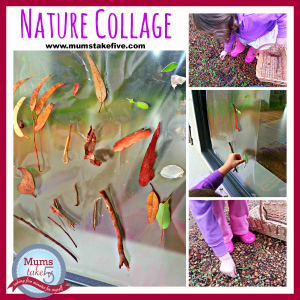 Nature Collage Craft for Kids