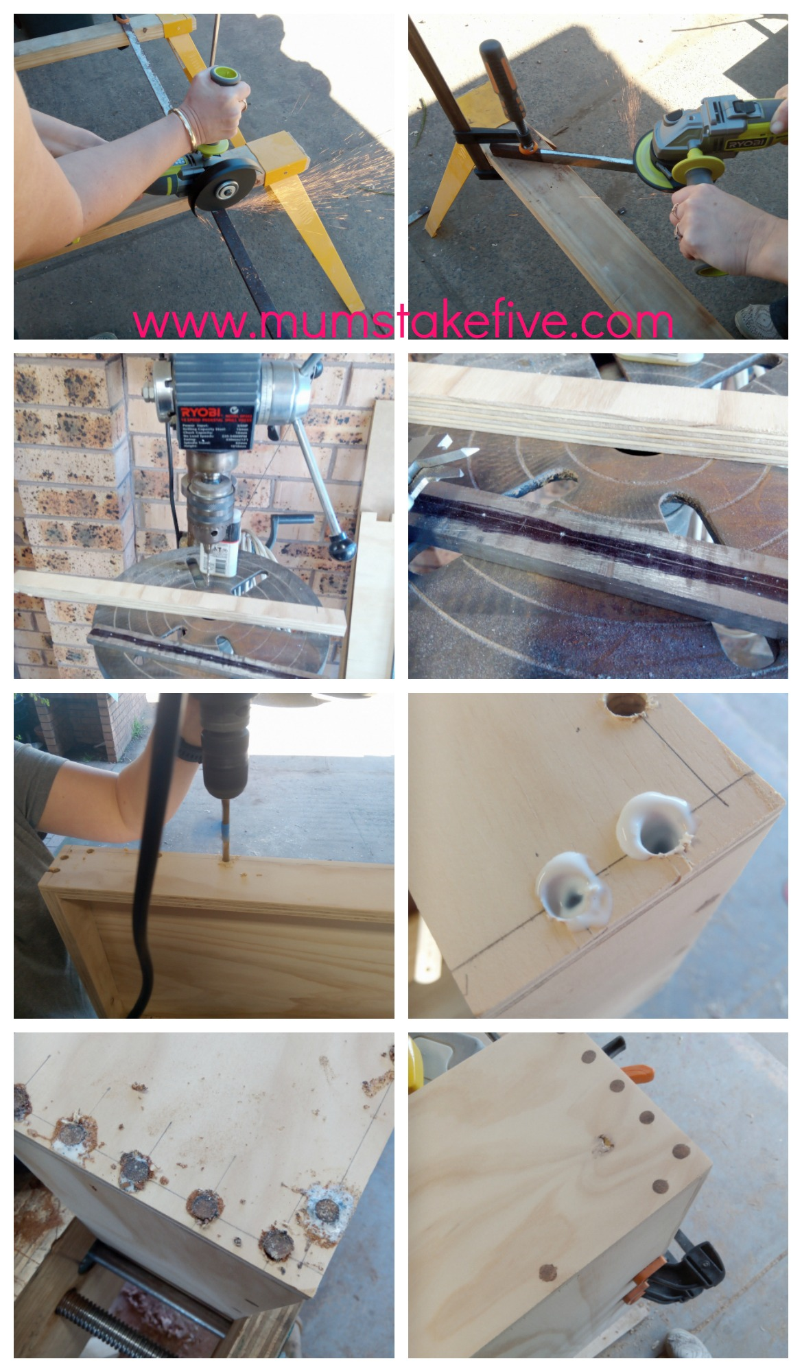 DIY Tool Cupboard Woodworking with Ryobi