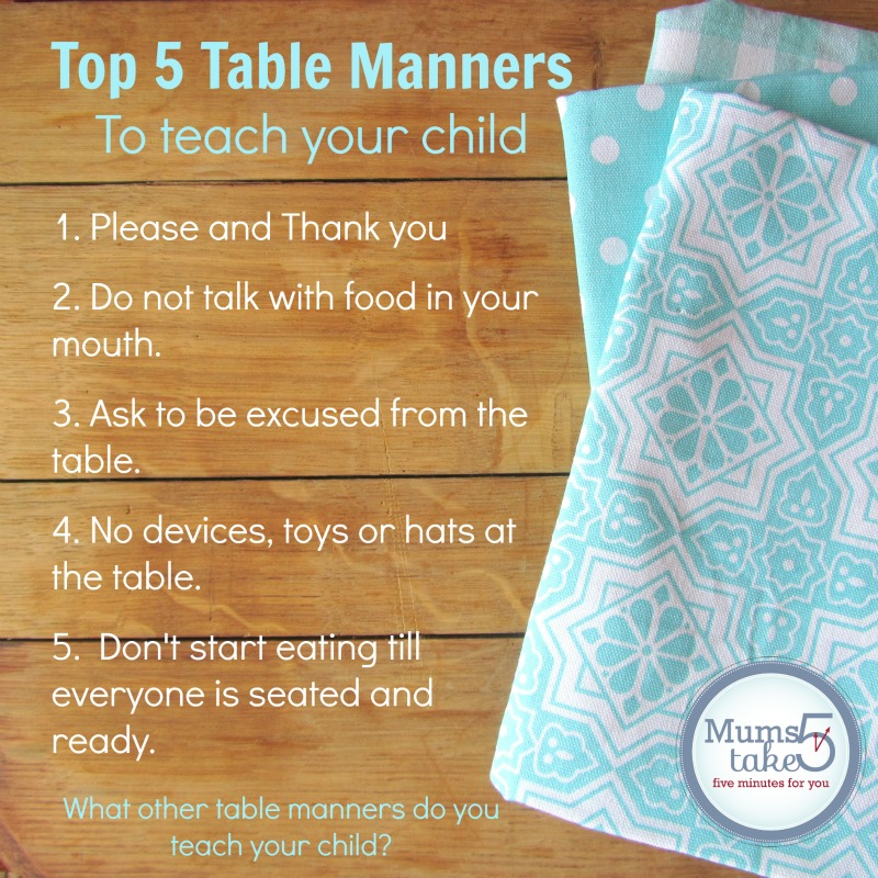 Mums Take Five   Quick Handy Tips