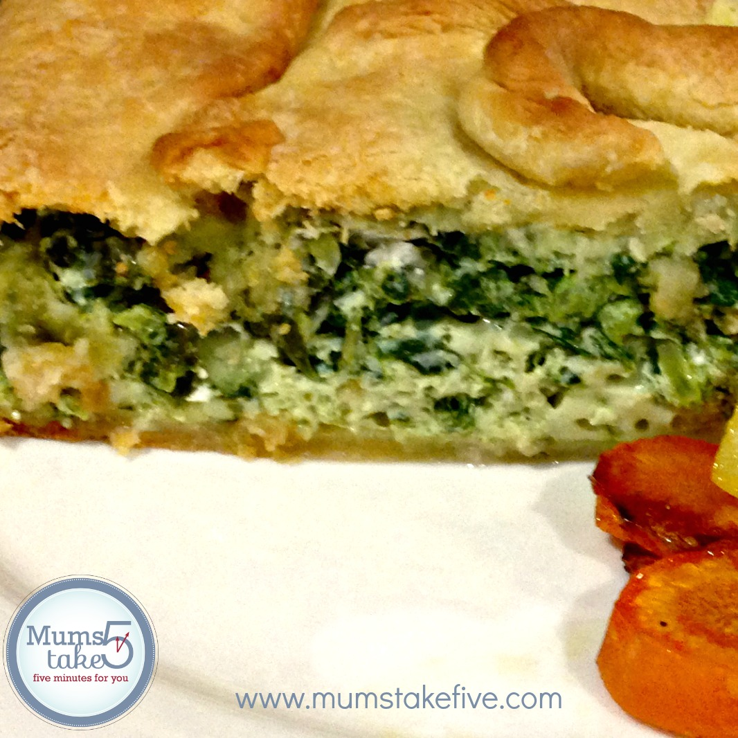 Thermomix Spinach Pie