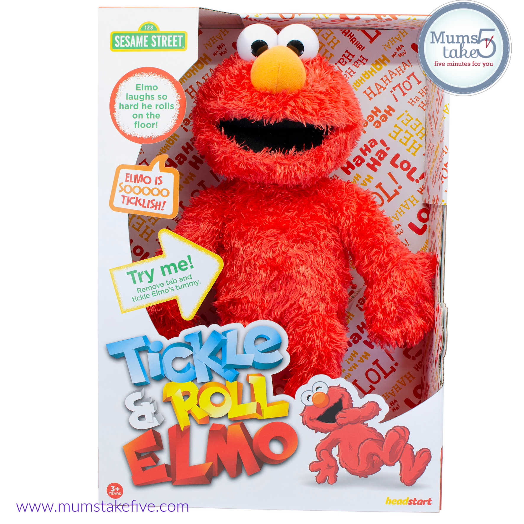 Tickle and Roll Elmo