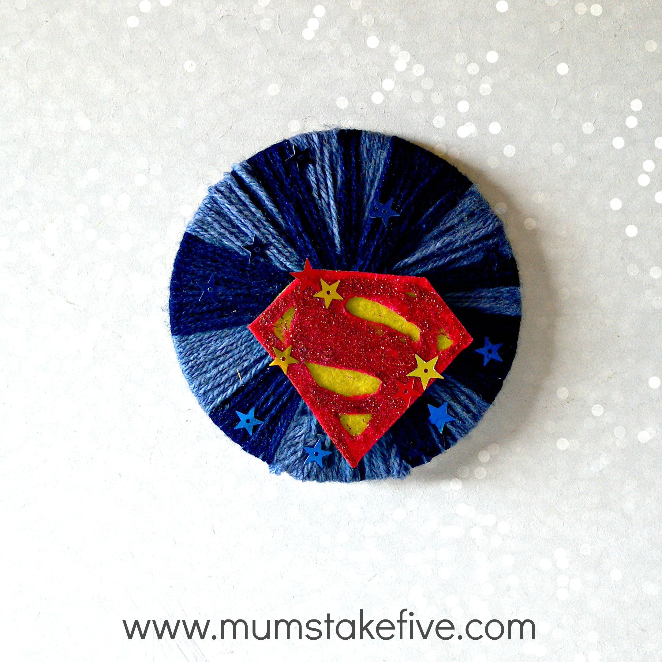 Superman Justice League Craft