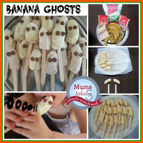 halloween snacks for kids  banana treats
