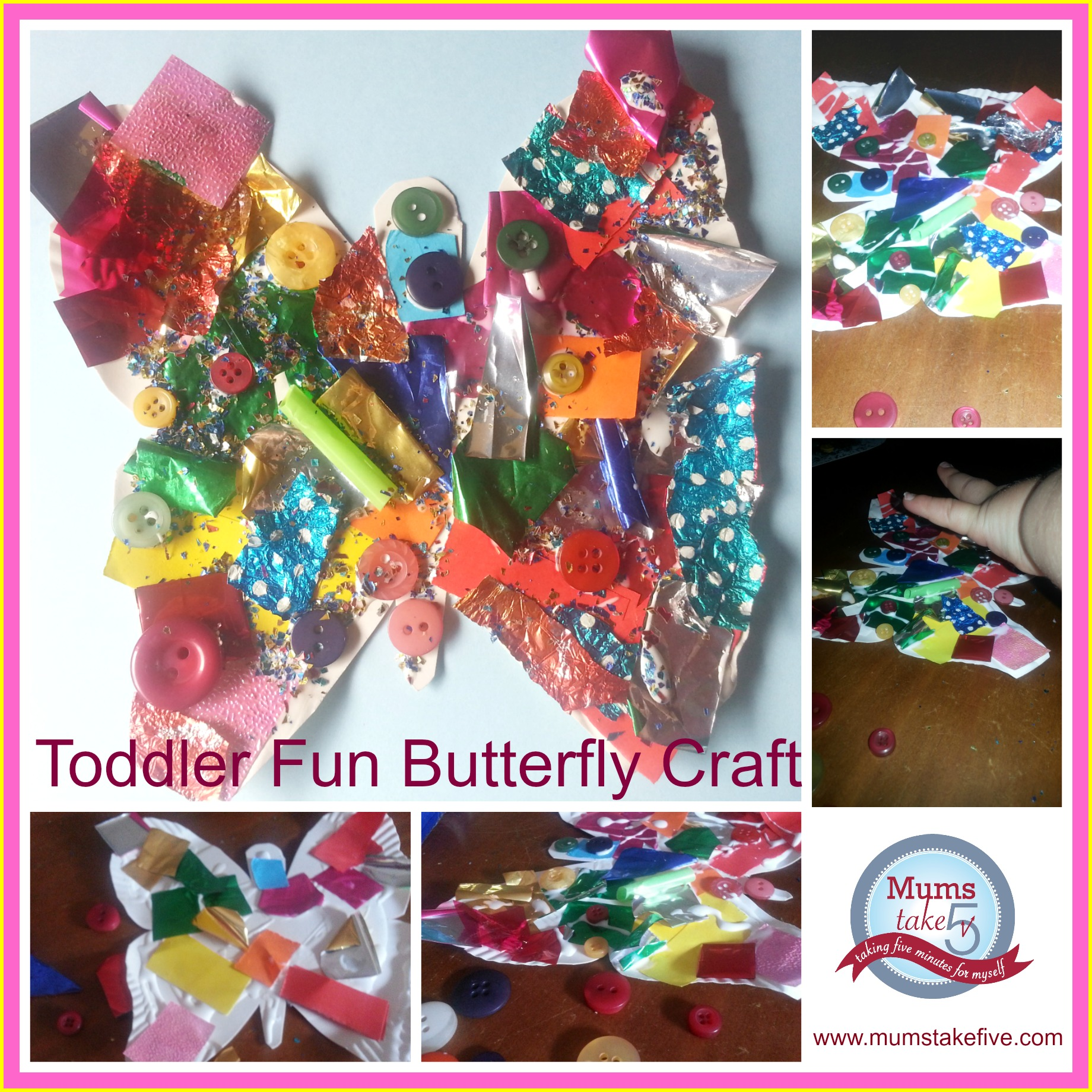 preschool collage rainbow butterfly collage for preschool crafts 960