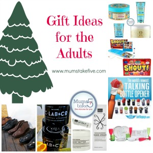 Christmas Gift Ideas for Mums and Dads