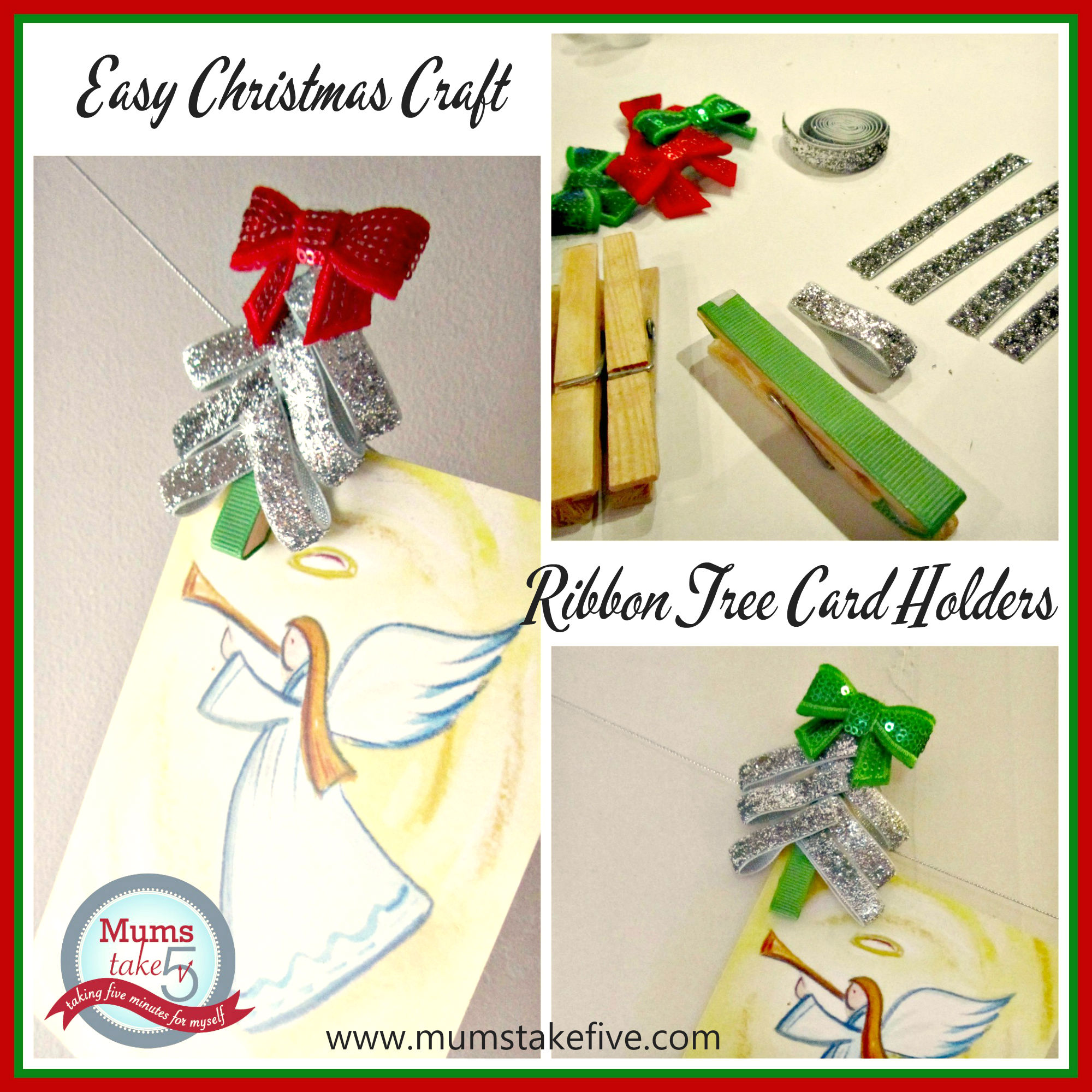 Easy Christmas Decor Craft