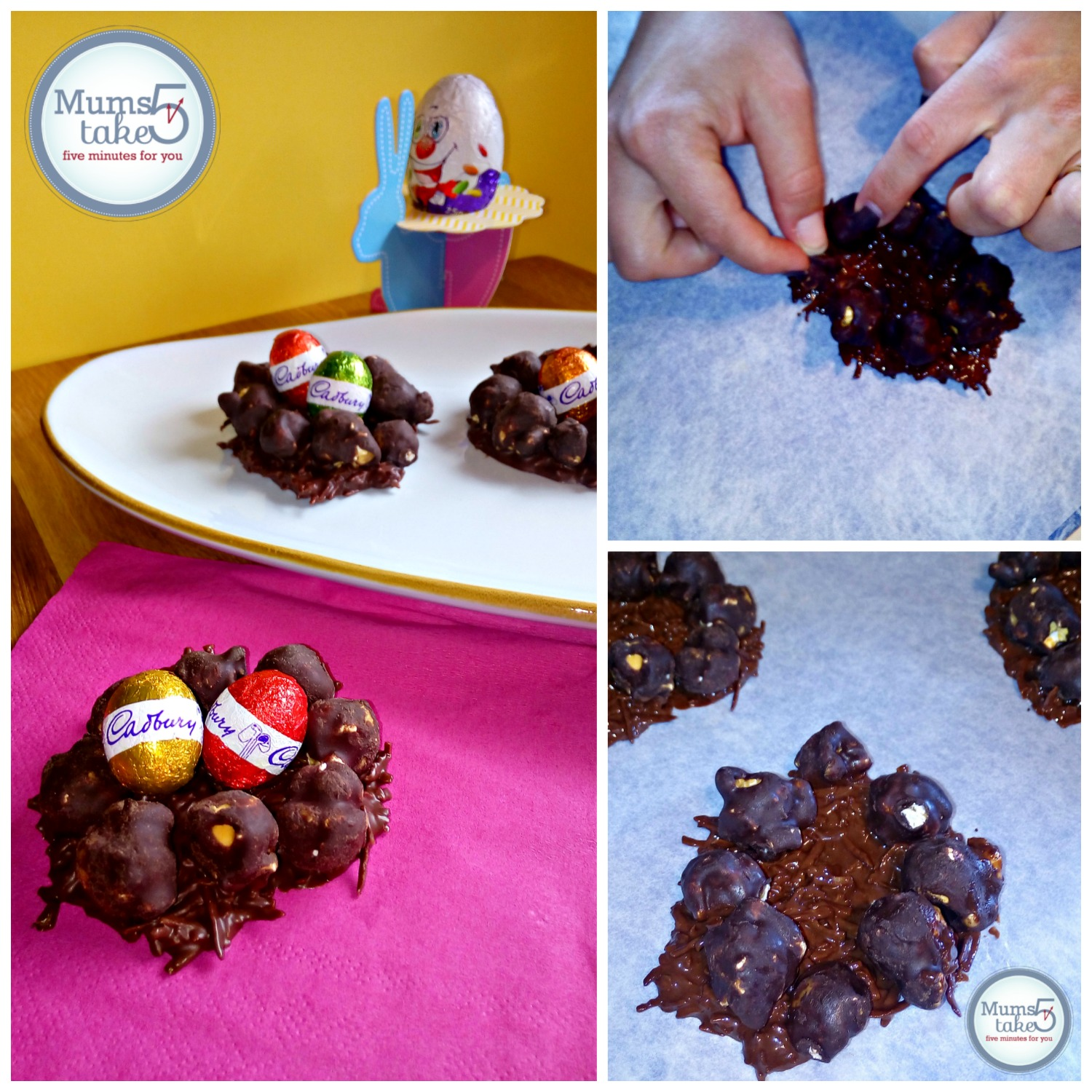 Cobs Popcorn Easter Chocolate Nests Recipe