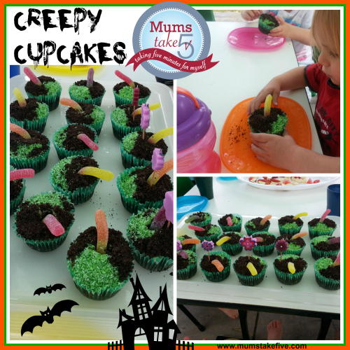 Halloween snacks creepy cupcakes halloween treats