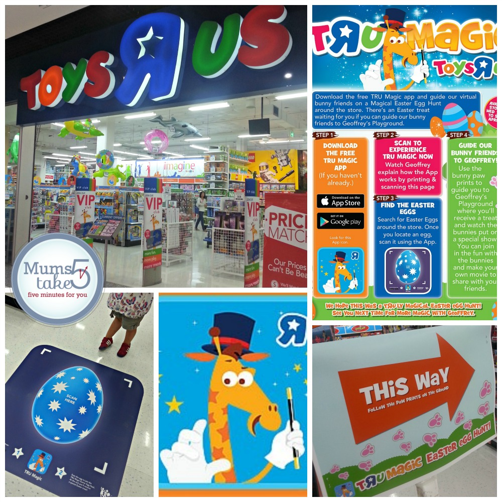 Toys R Us Australia Easter Magic