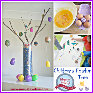 Childrens Easter Tree