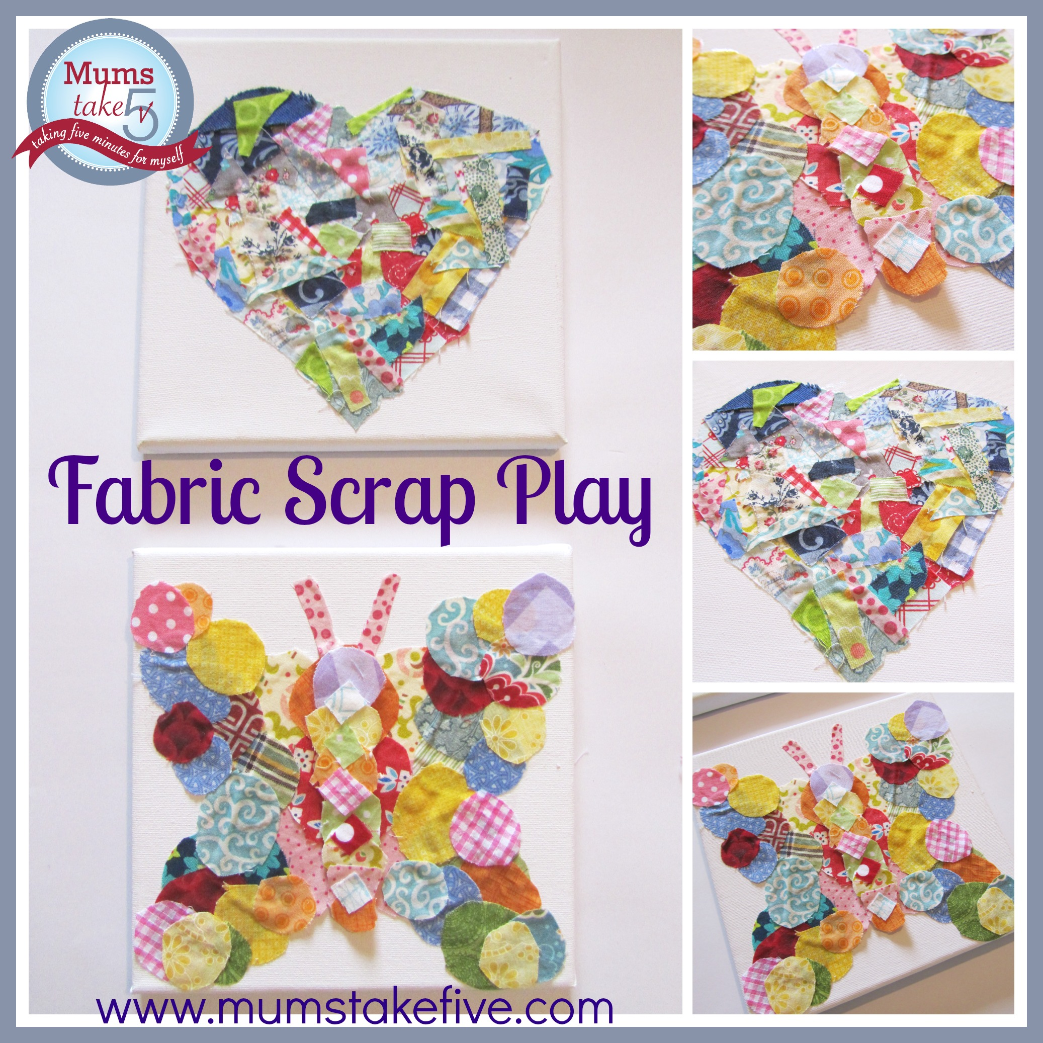 Fabric Scrap Kids Play Ideas