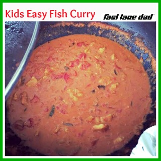 Kids Easy Fish Curry Recipe