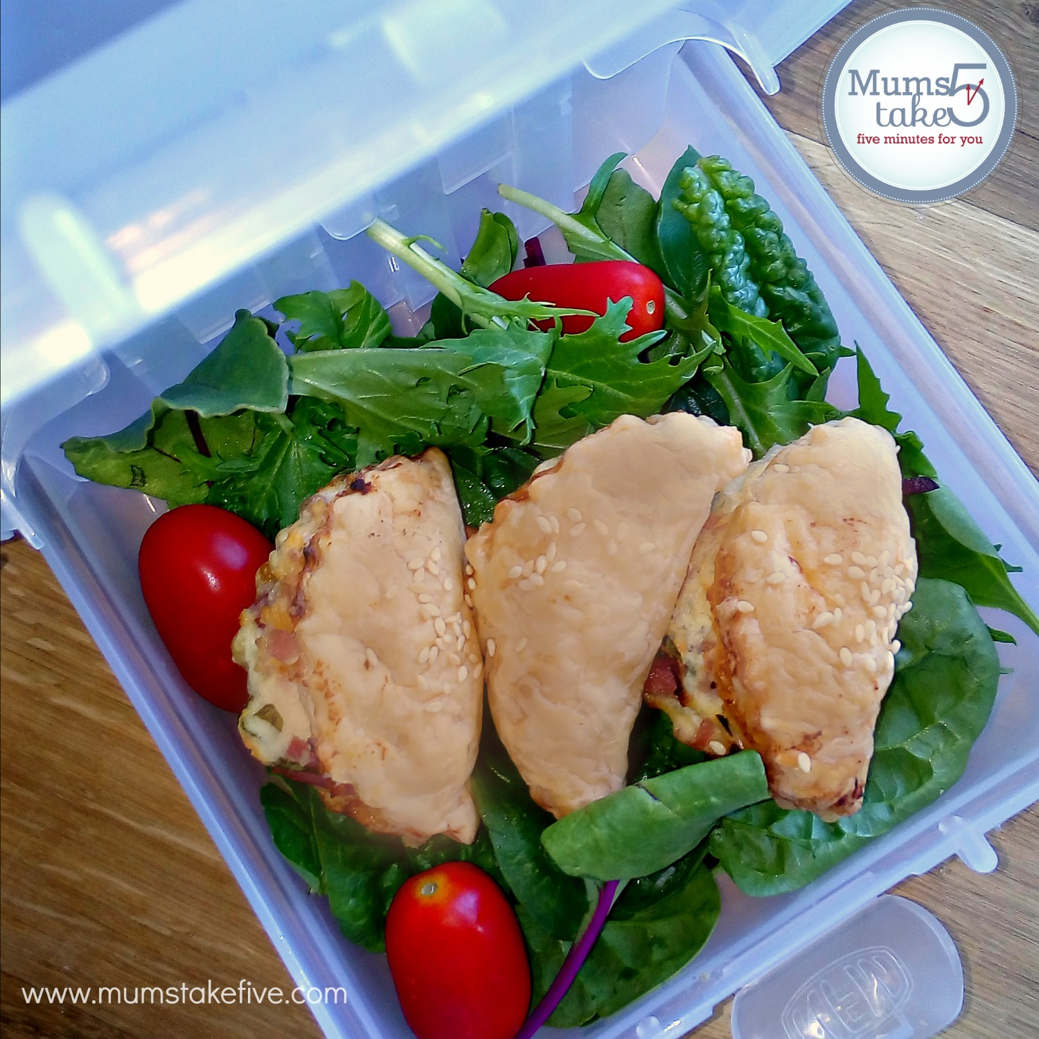 Ham and Cheese Pasties Recipe Lunch Box Idea