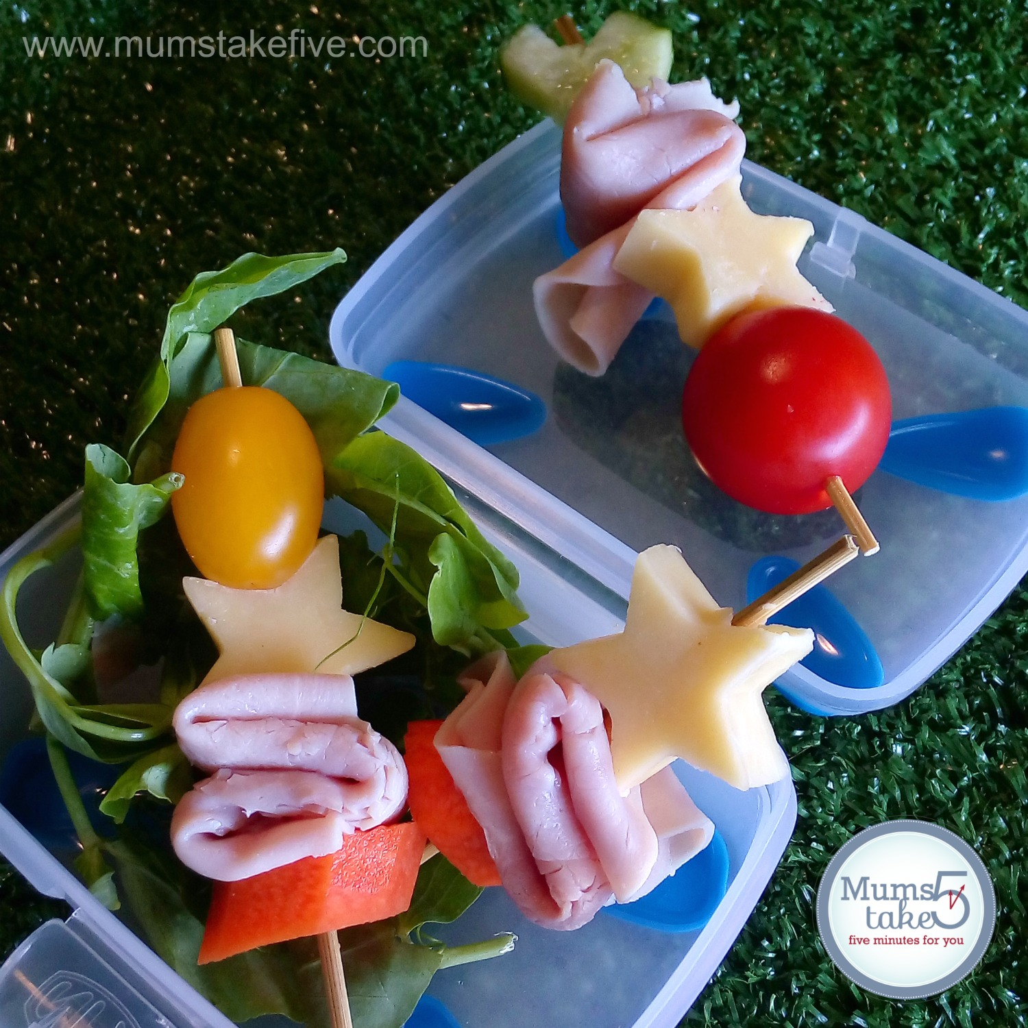 Don Ham Lunchbox Skewers