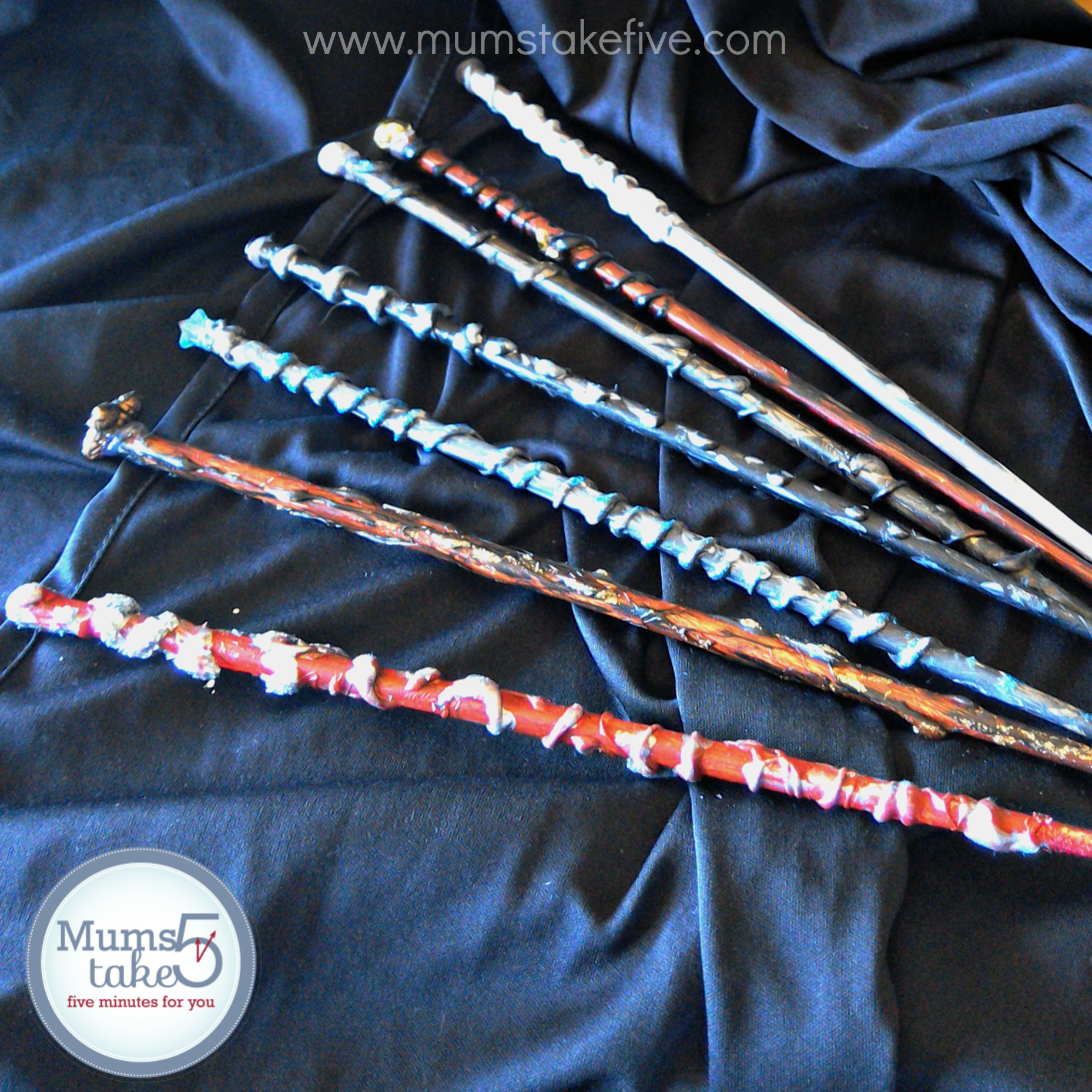 Harry Pottter Wizard Wands DIY