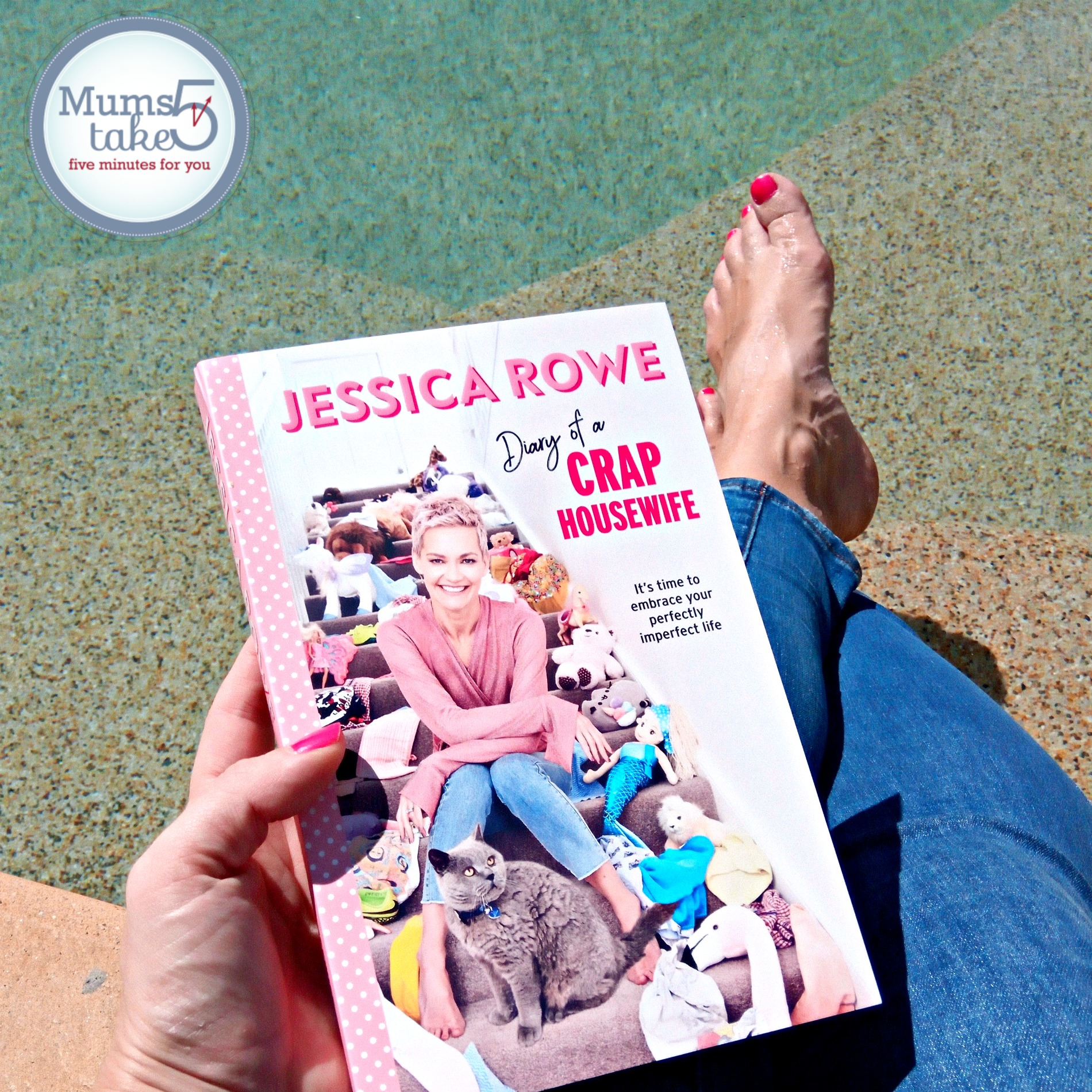 Diary of a Crap House wife Jessica Rowe Giveaway