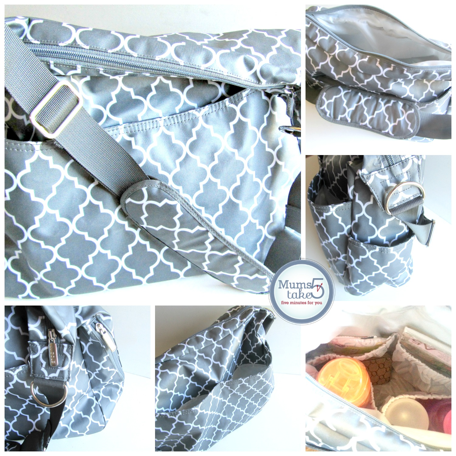 JJ Cole Collections Nappy Bag Review and Giveaway