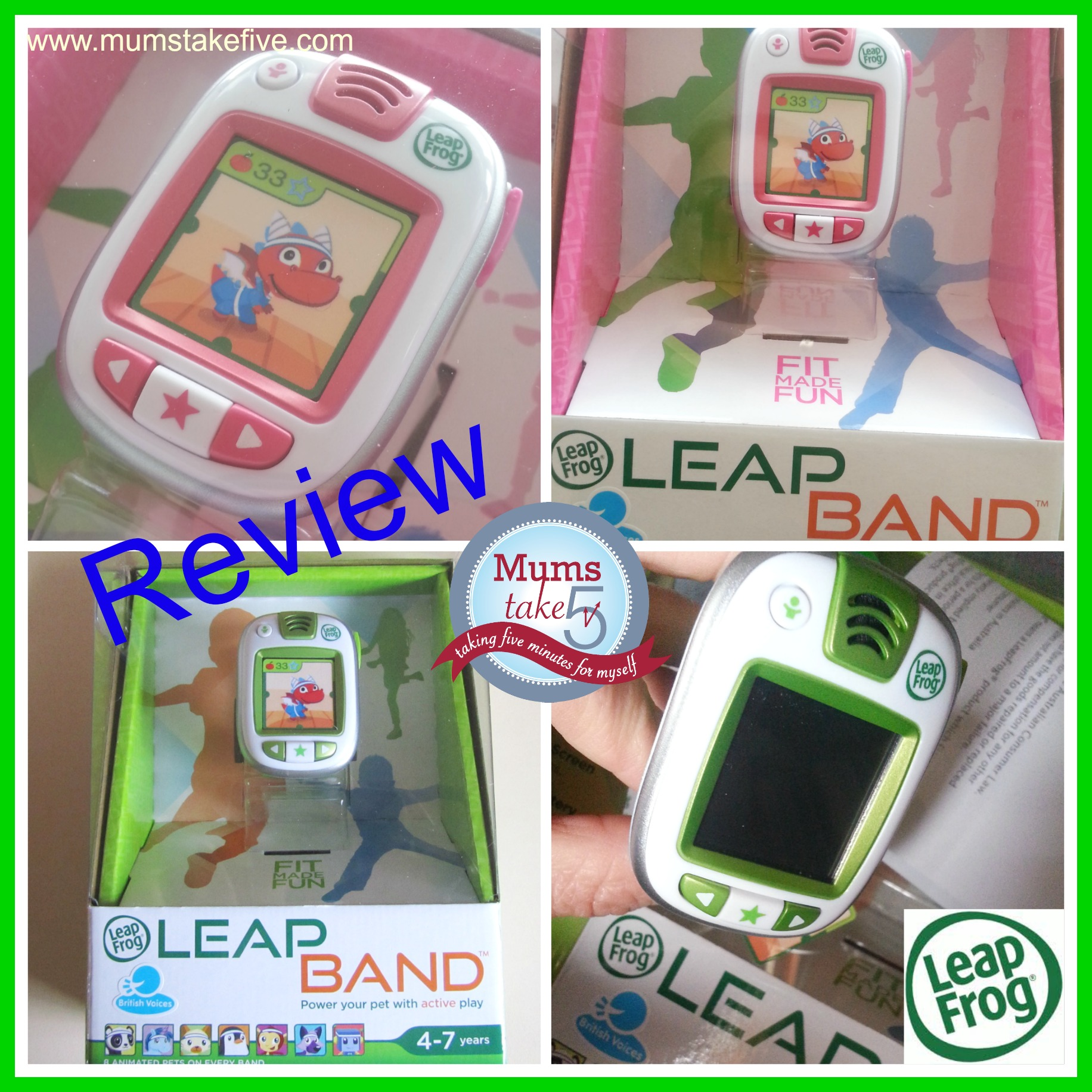 Leap Frog Leap Band Review