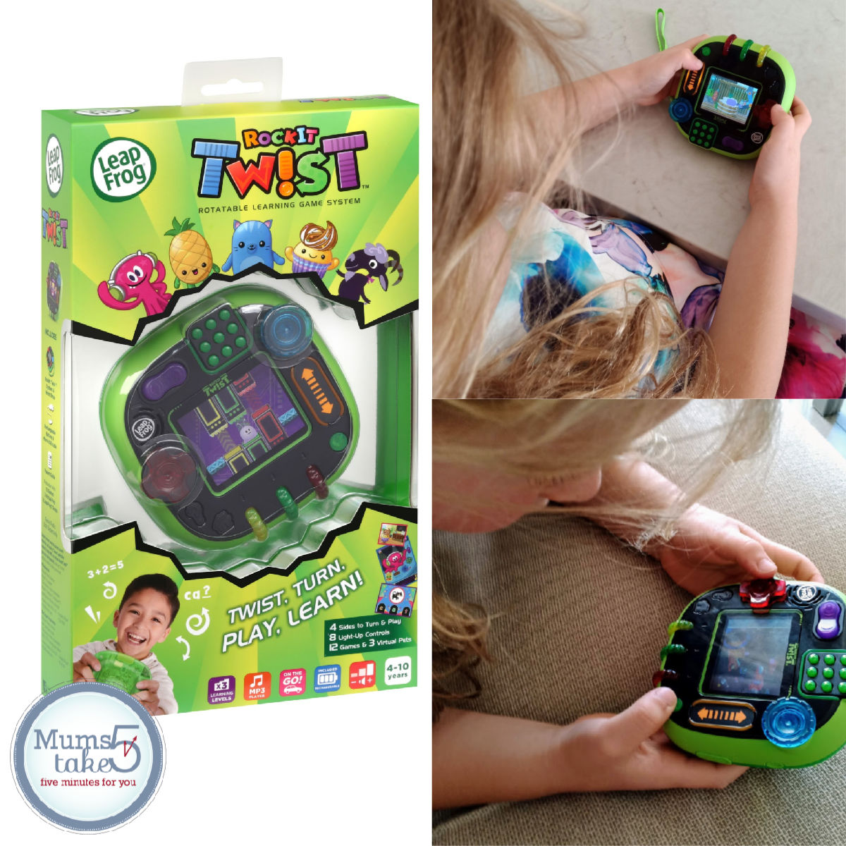 Leap Frog RockIT Twist Review