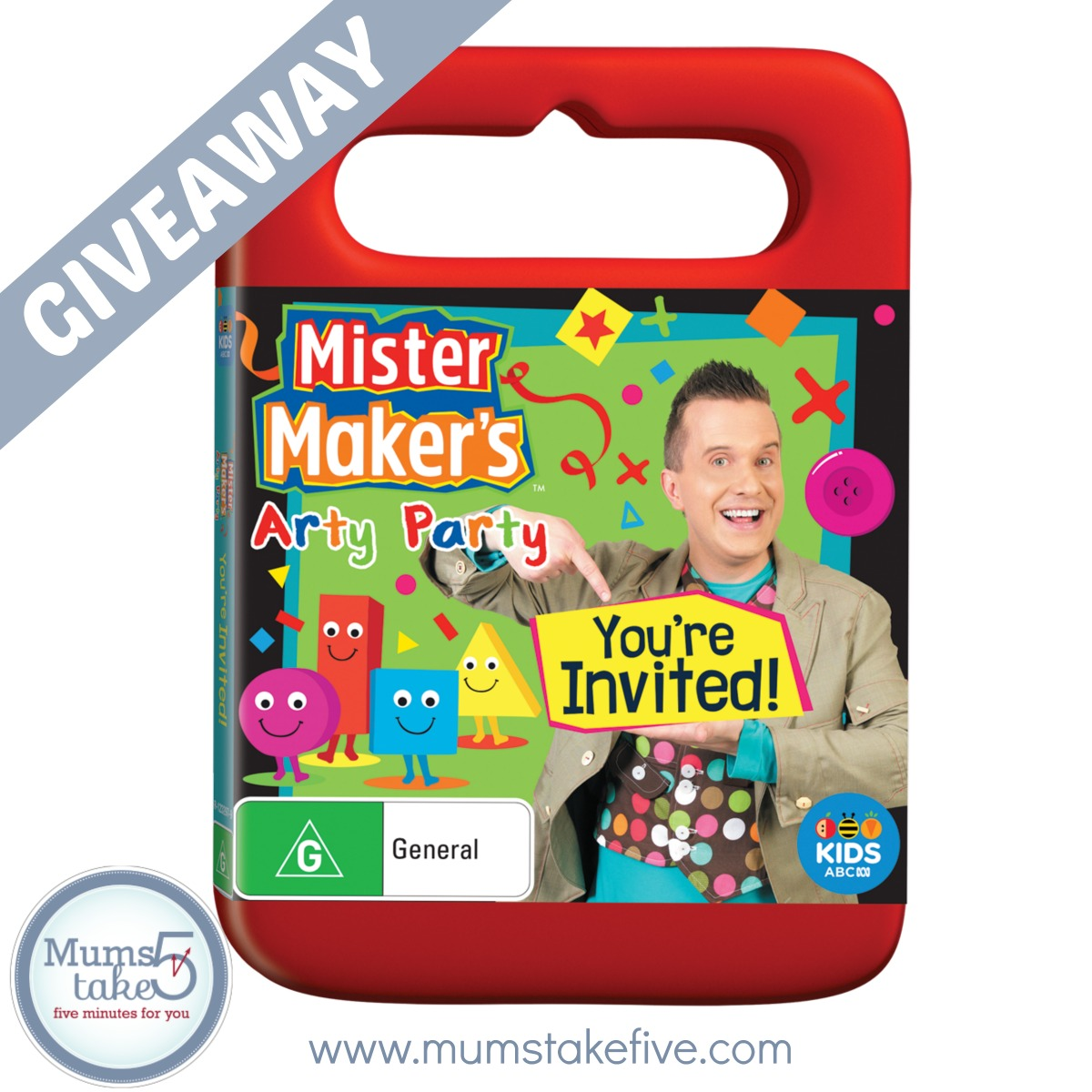 Mister Maker Arty Party  ABC Kids