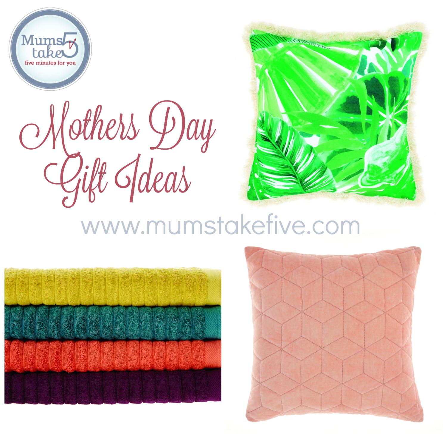 Mothers Day gift guide with Mums Take Five