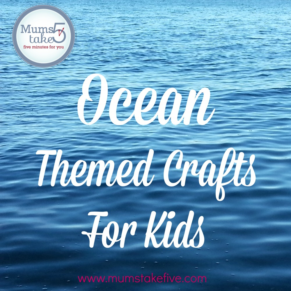 ocean theme sea them crafts for kids