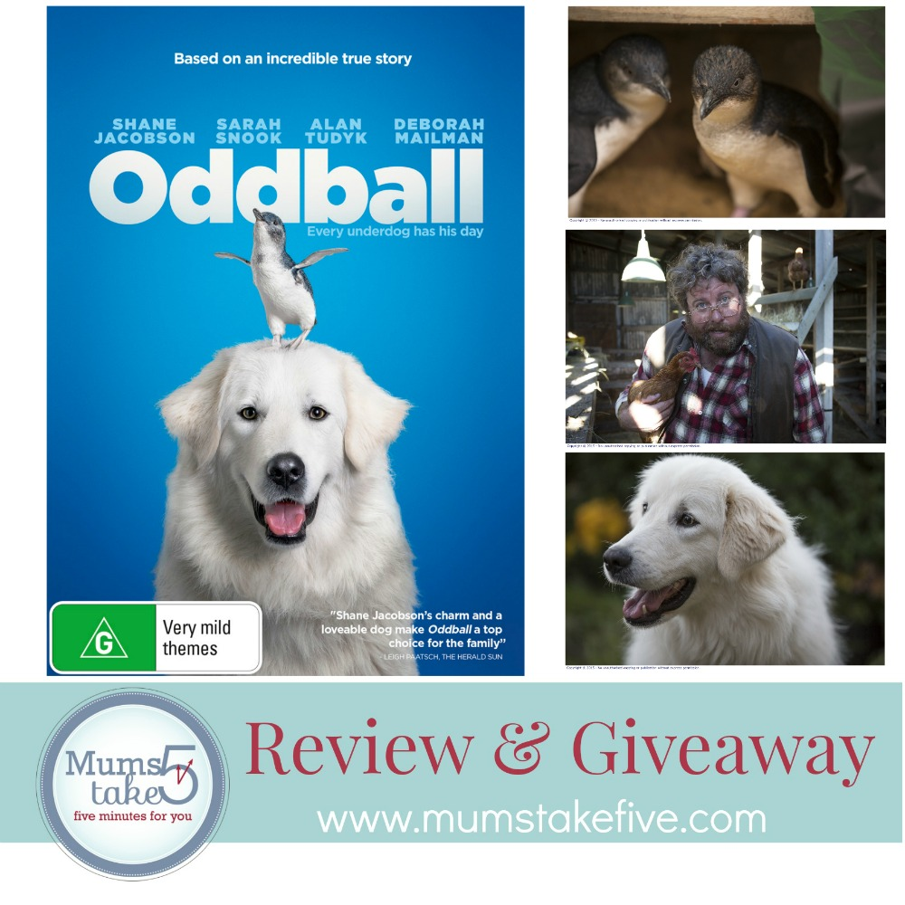 Oddball  Review and Giveaway