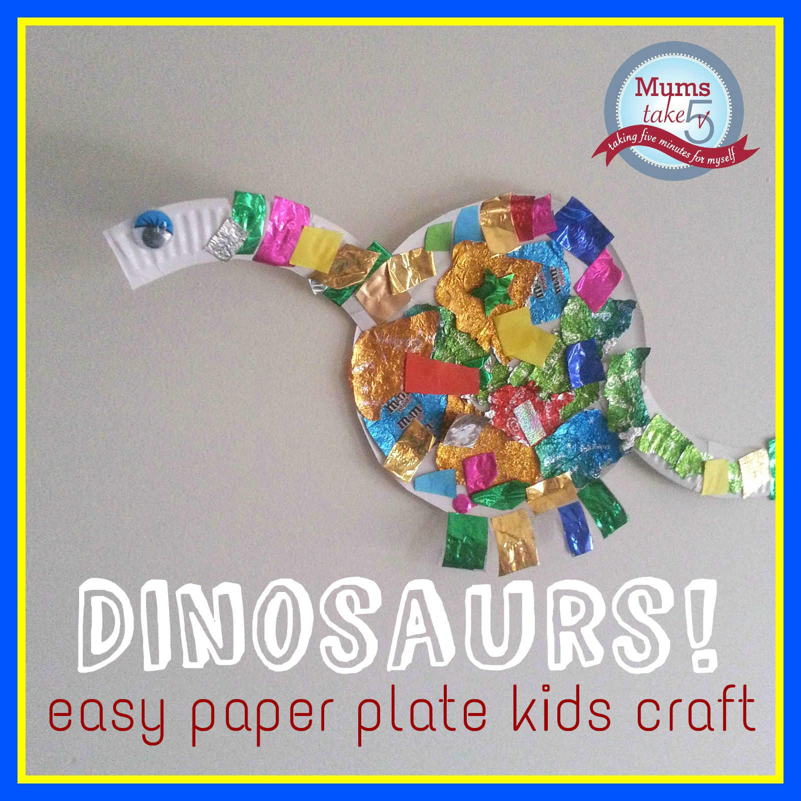 kids craft easy kids dinosaur craft